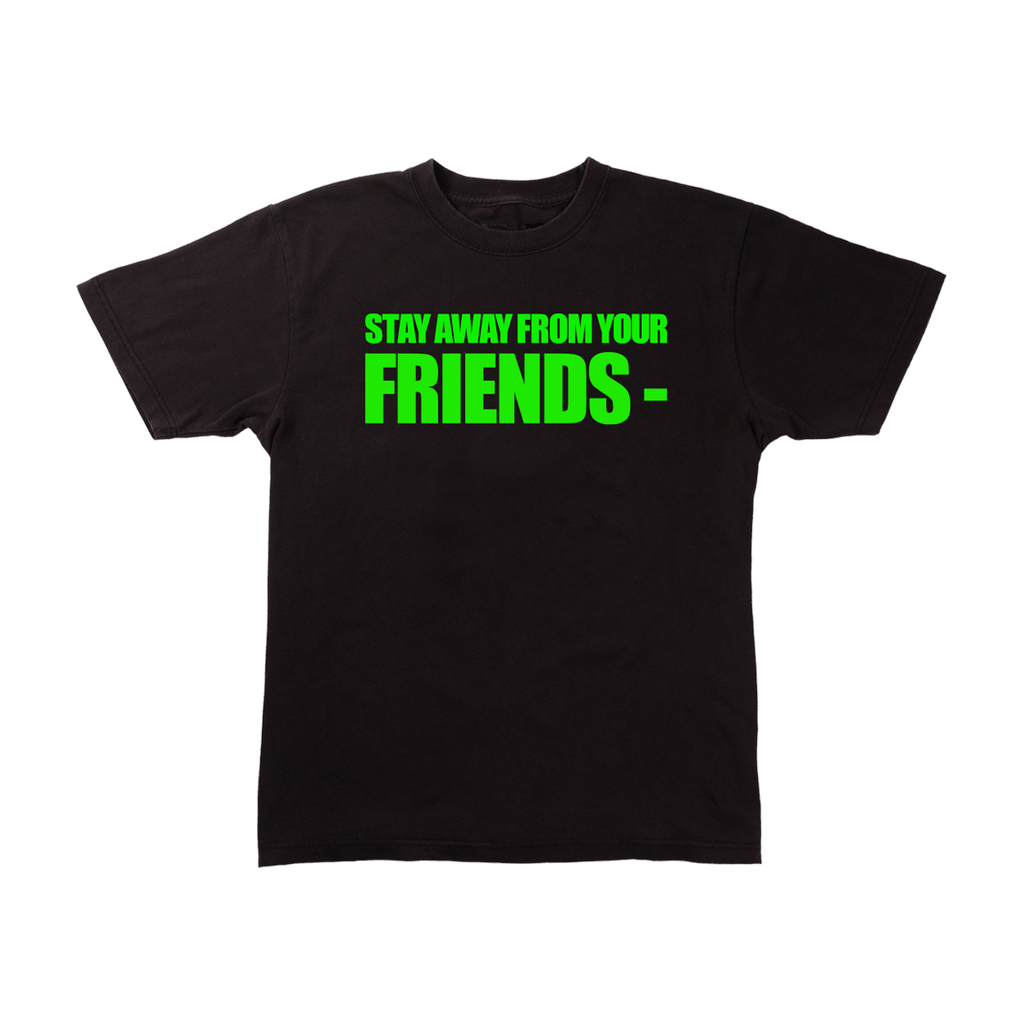 GOOD FRIENDS- BLACK T-SHIRT