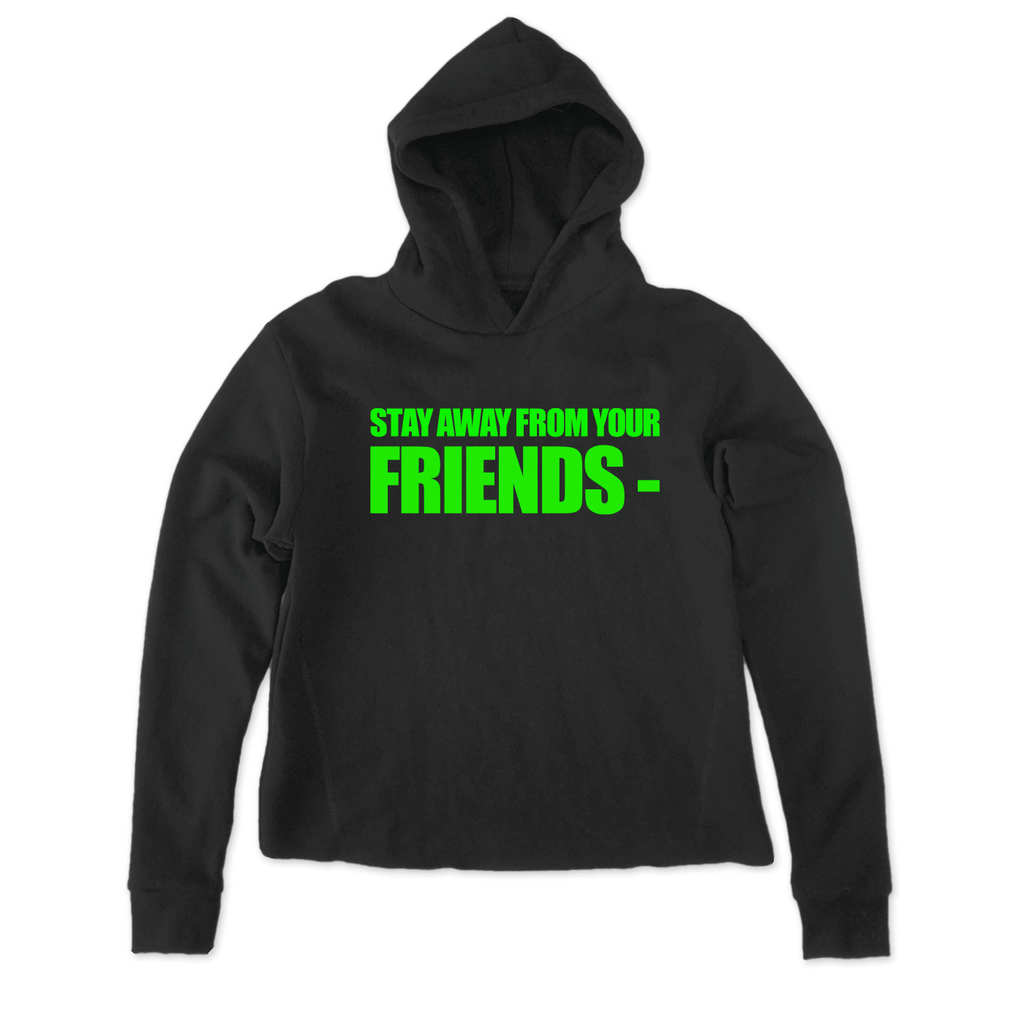 GOOD FRIENDS- BLACK HOODIE