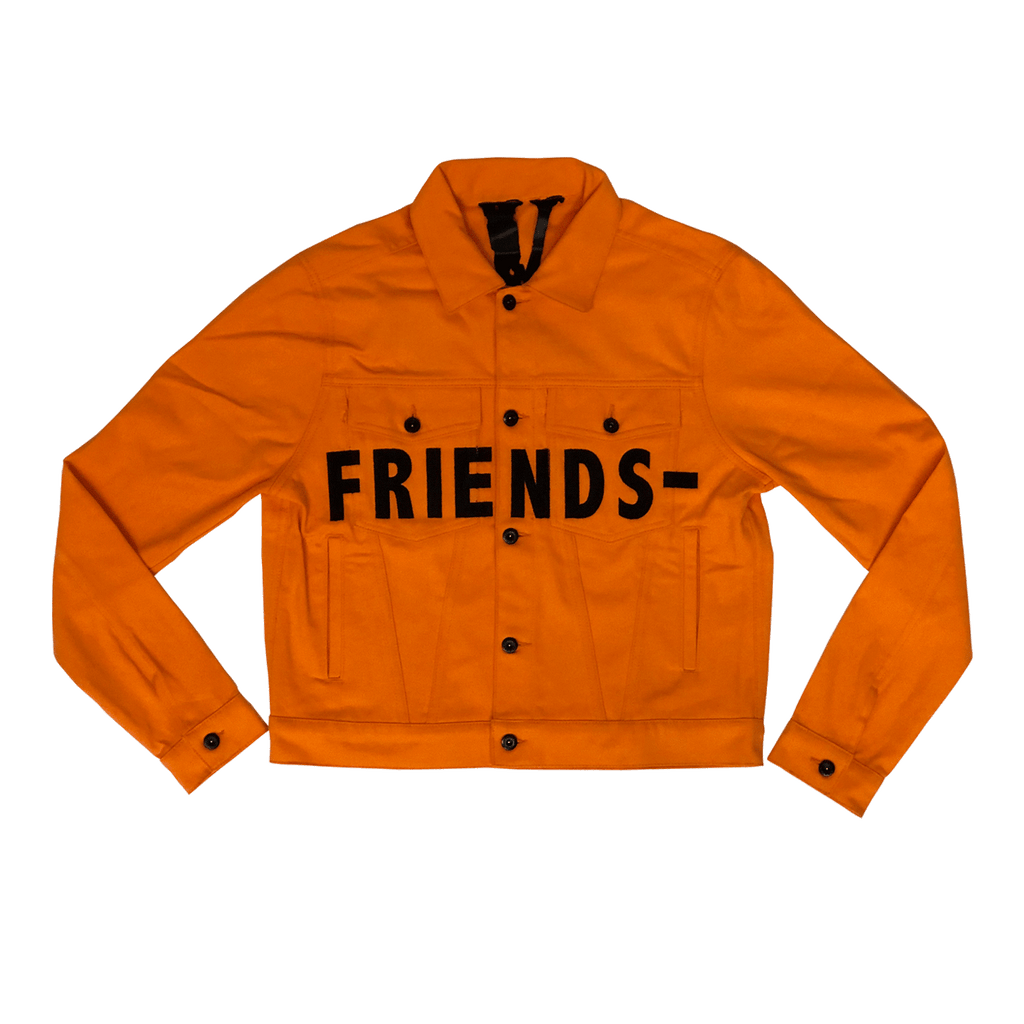 FRIENDS- ORANGE DENIM JACKET