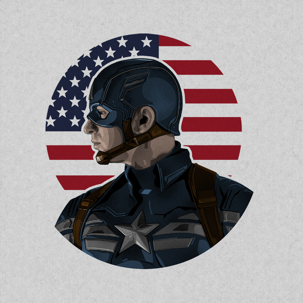 Captain America Portrait