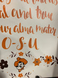 OK State Alma Mater Song Canvas