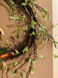 "14"" Custom Grapevine Spring Wreath"