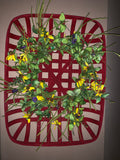 "23"" Black-Eyed Susan Wreath"
