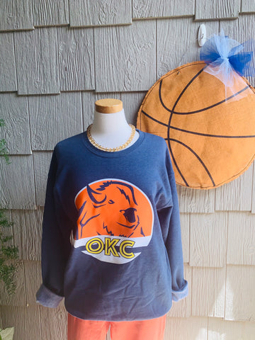 OKC Spirit Buffalo Sweatshirt