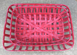 Red Tobacco Basket