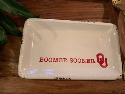 Collegiate Logo Trinket Tray
