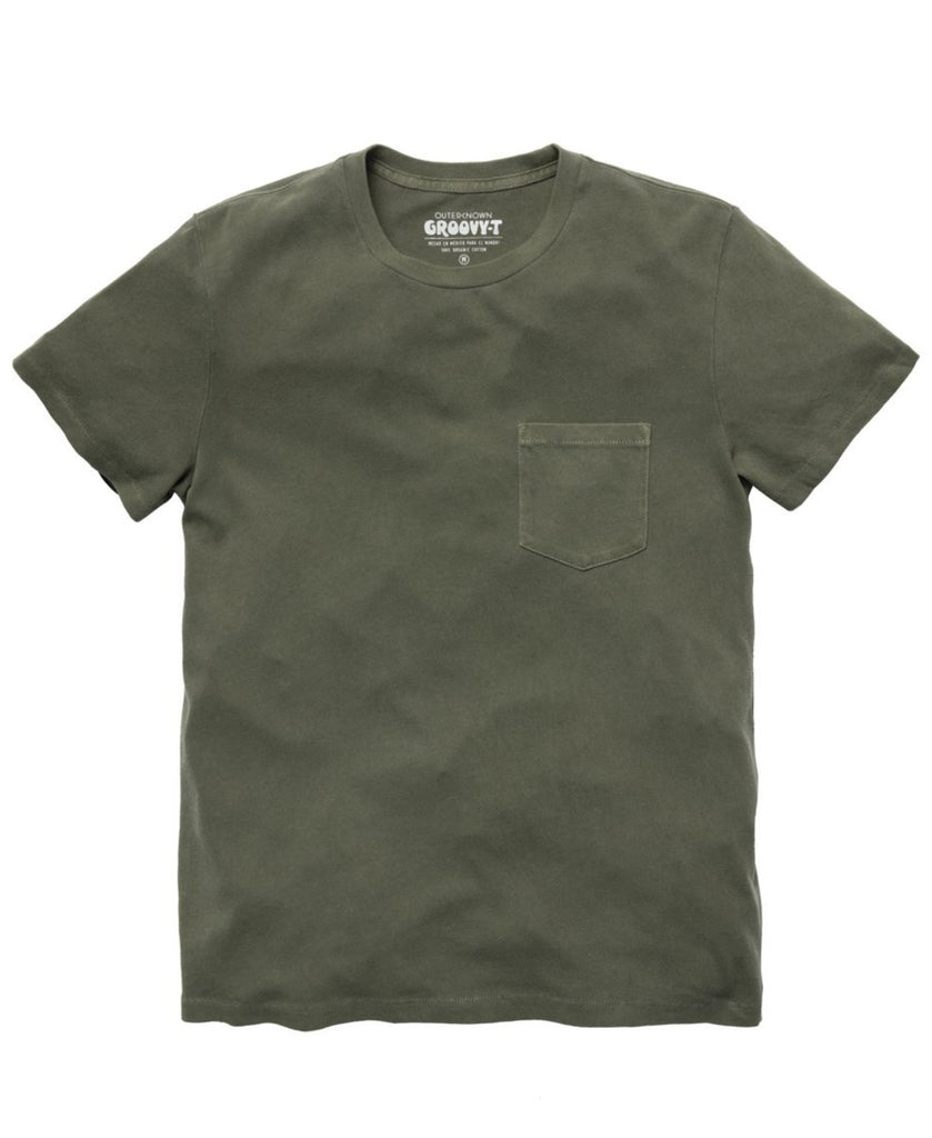 Outerknown Groovy Pocket Tee Safari