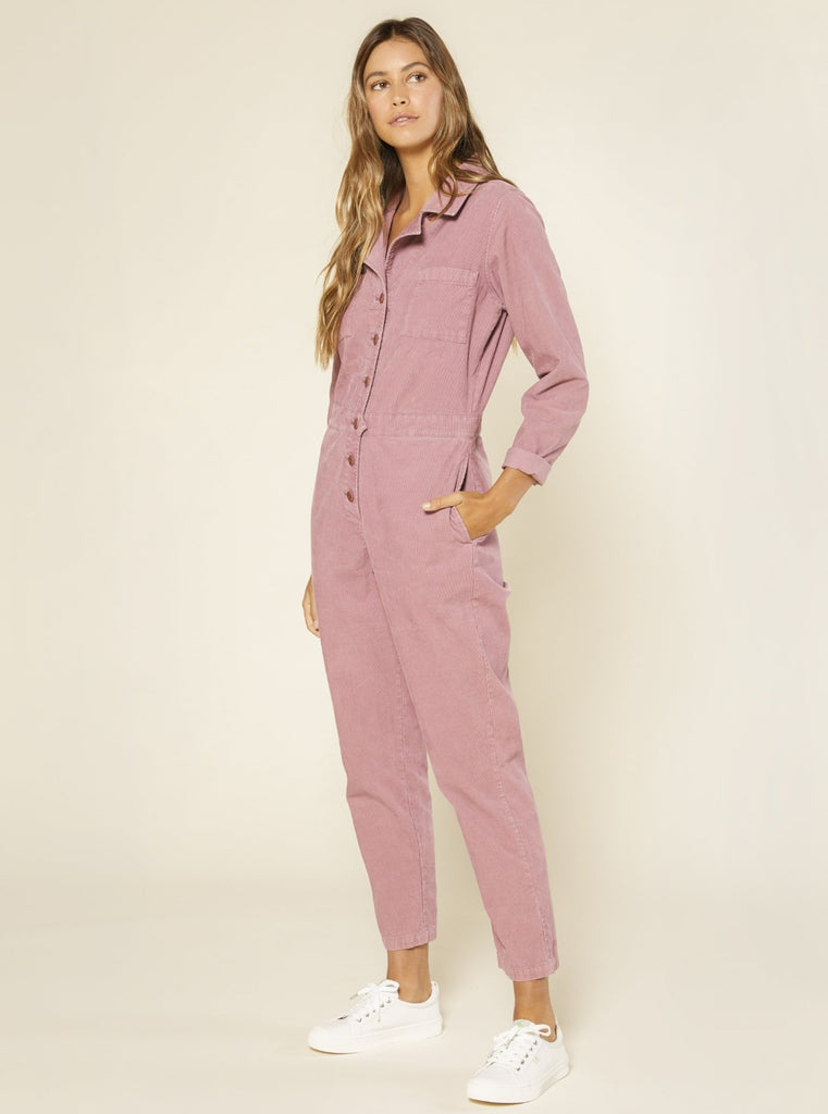 Outerknown Lou Cord Jumpsuit Cosmic