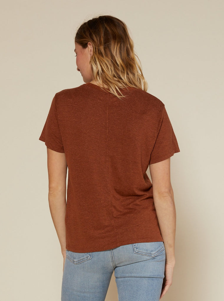 Outerknown Neptune Tee Sepia