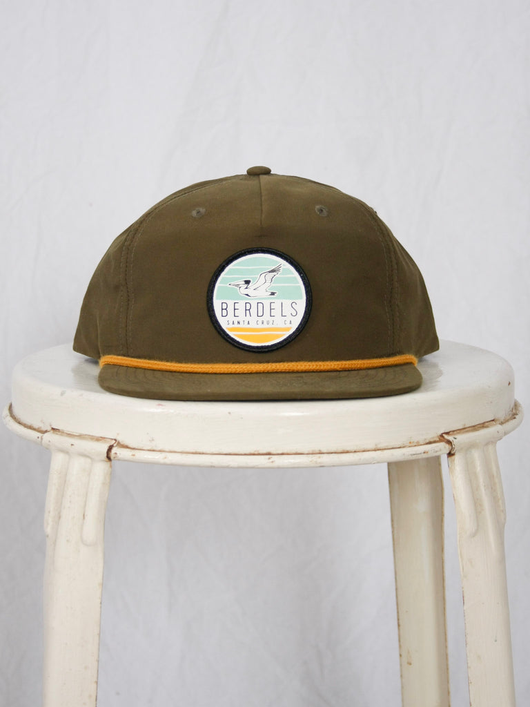 Berdels Sky to Sand Hat Loden Green/Gold