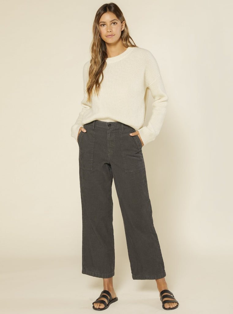 Outerknown Lou Cord Pant Faded Black