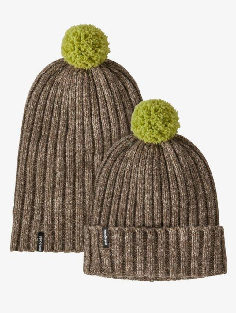 Patagonia Wool Pom Beanie Furry Taupe
