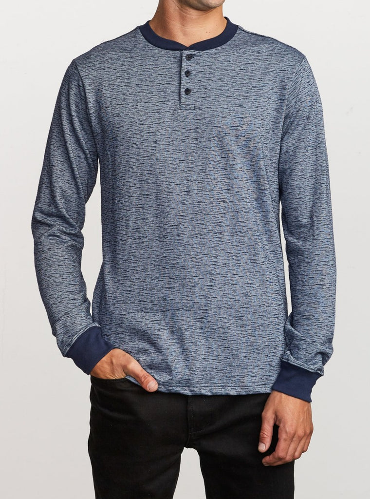 RVCA men's long sleeve shirt