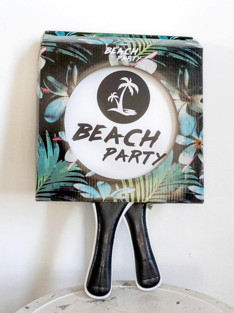 Beach party paddle ball