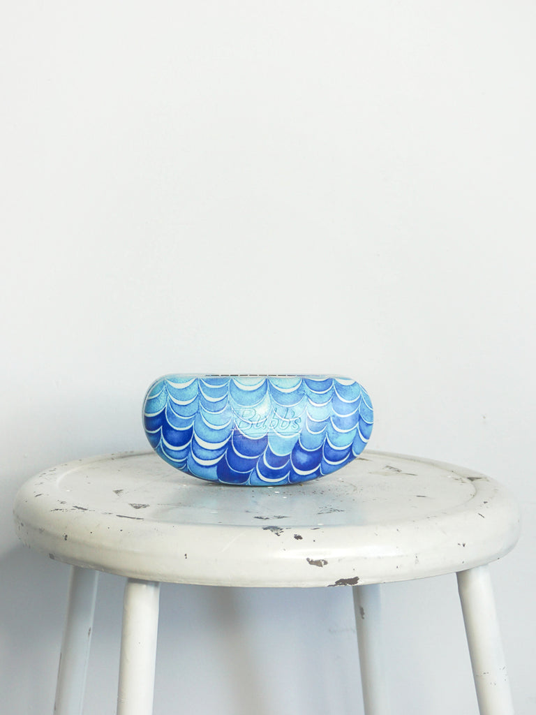 Bubb's Sunglasses Case Blue Waves