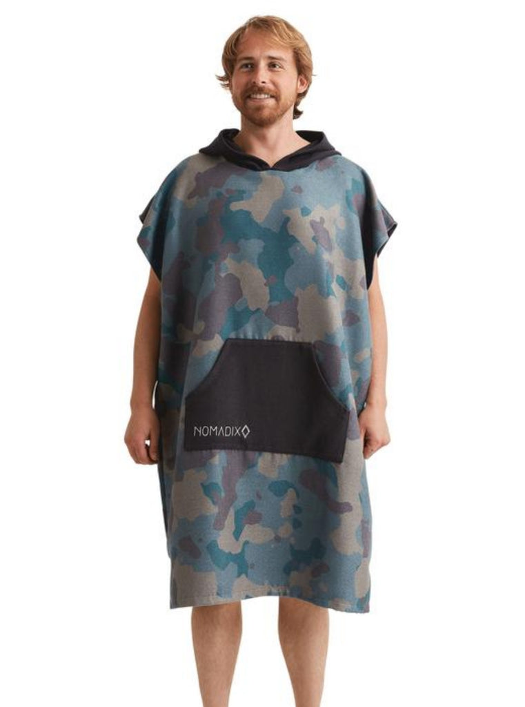 Nomadix Camo Green Changing Poncho