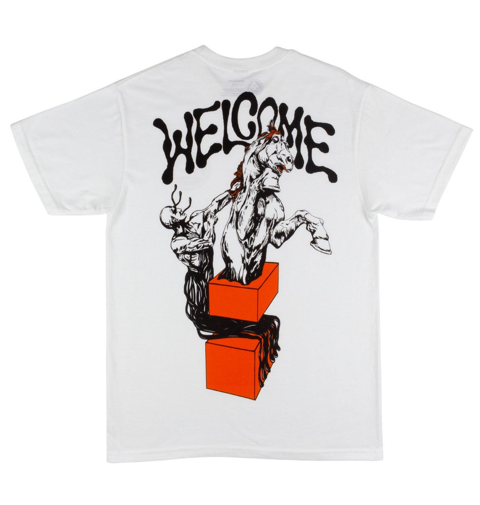Welcome Hierophant Premium Tee White