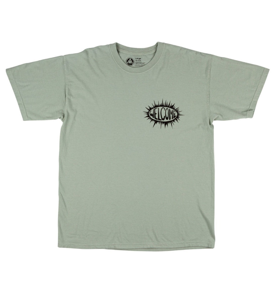 Welcome Beldam Garment Dye Tee Sage