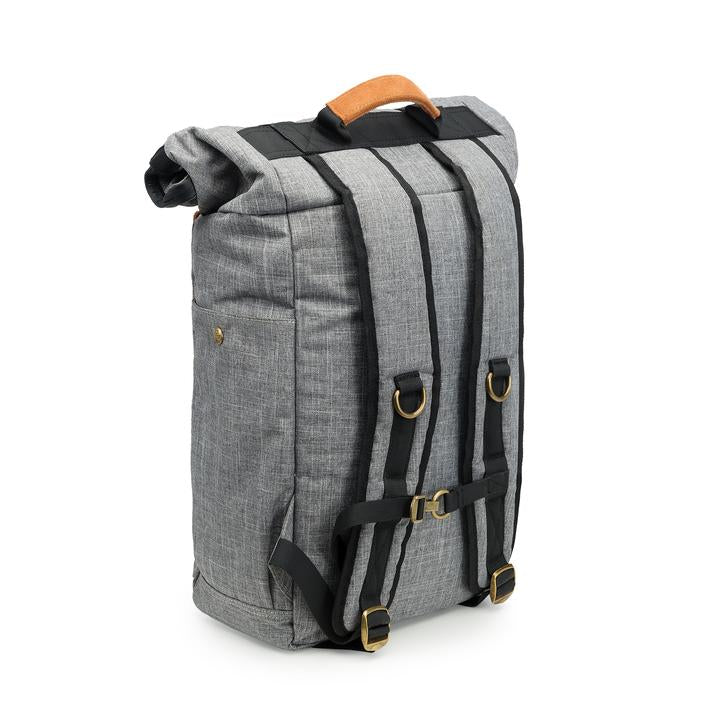 Revelry Supply Drifter Rolltop Backpack Grey