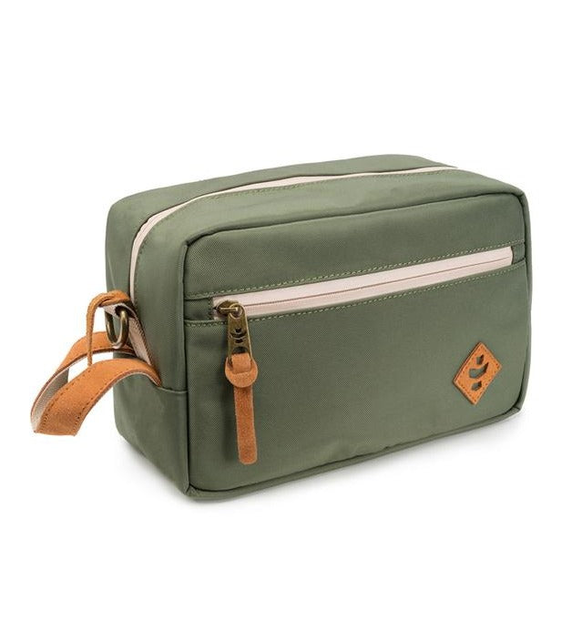 Revelry Supply Stowaway Dopp Canvas Green