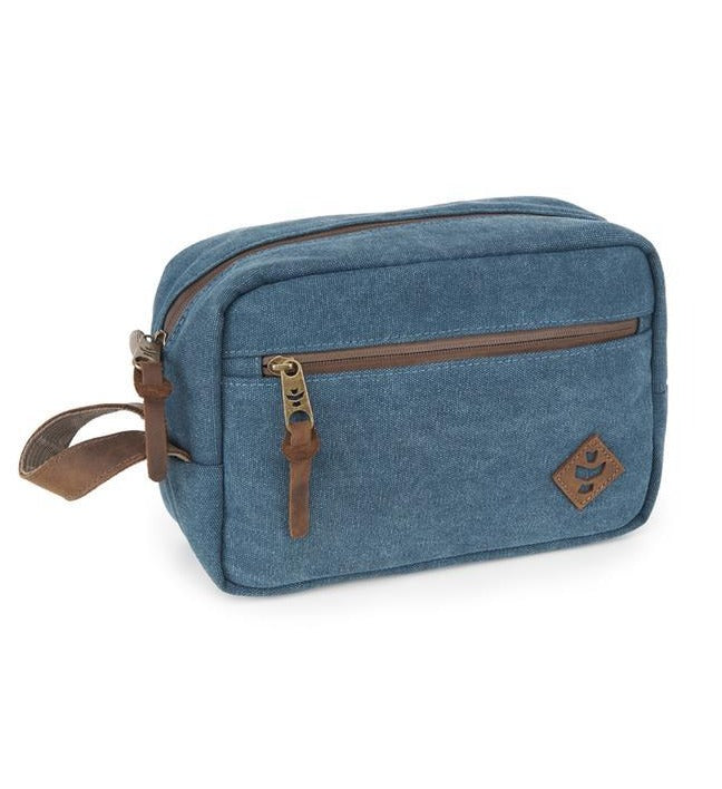 Revelry Supply Stowaway Dopp Canvas Marine