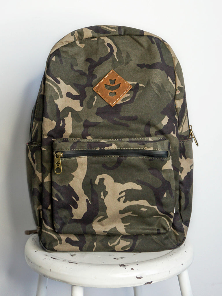 Revelry Supply Escort Backpack Brown Camo