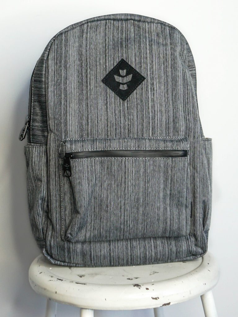 Revelry Supply Escort Backpack Striped Dark Grey