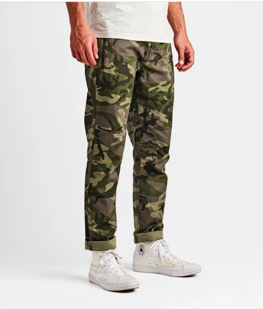 Roark Layover Stretch Travel Pants Camo