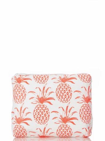 Aloha Collection x Aimee Wilder Small Piña Sola Neon Coral