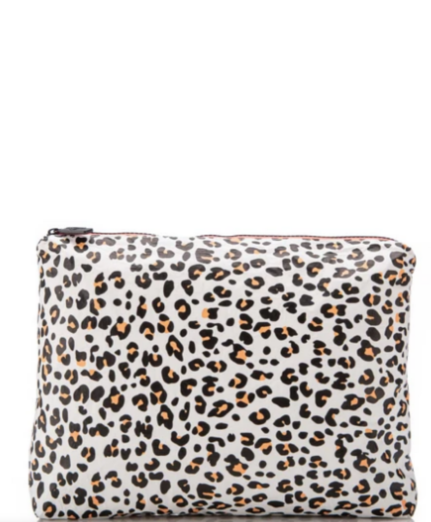 Aloha Collection Mid Size Pouch Leopard Cub