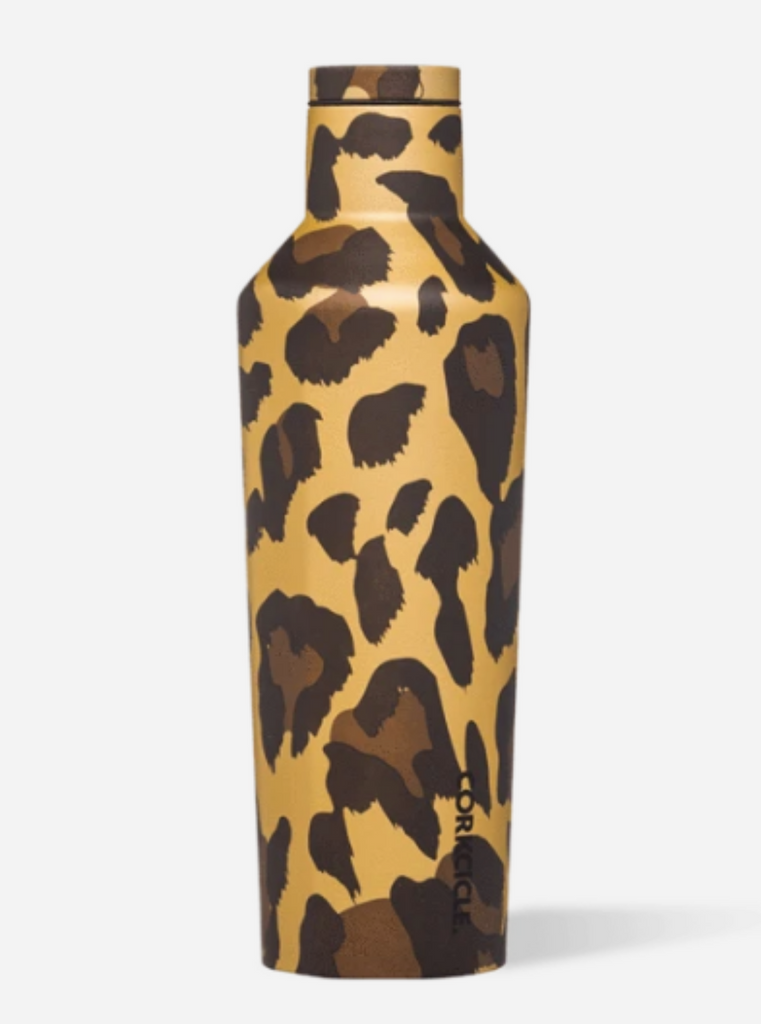 Corkcicle Canteen 16 Oz. Luxe Leopard