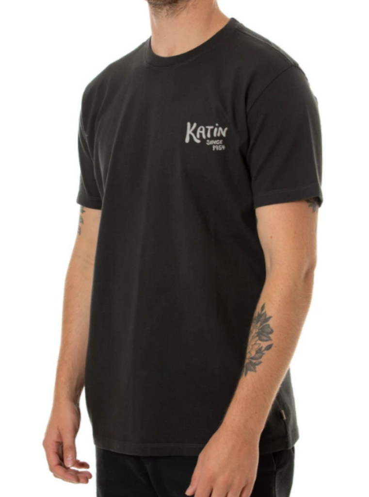 Katin Tamer Tee Black Wash