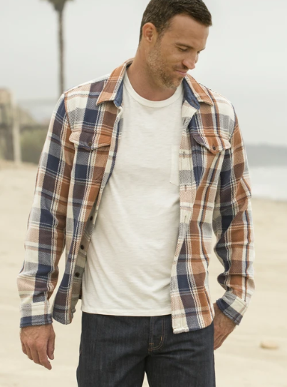 Outerknown Blanket Shirt Juneau Plaid
