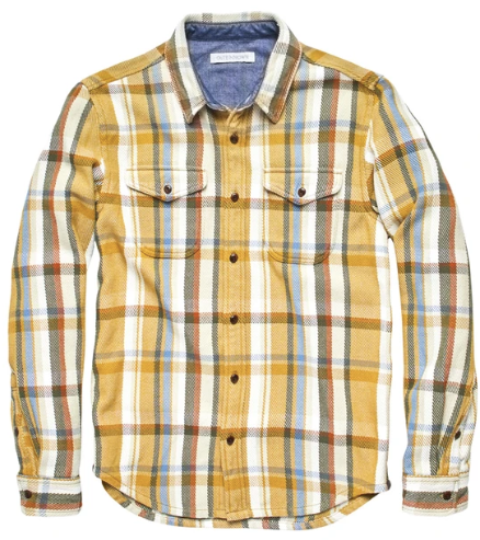 Outerknown Blanket Shirt Leo Plaid
