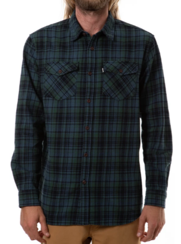 Katin Fred Flannel Baltic Blue