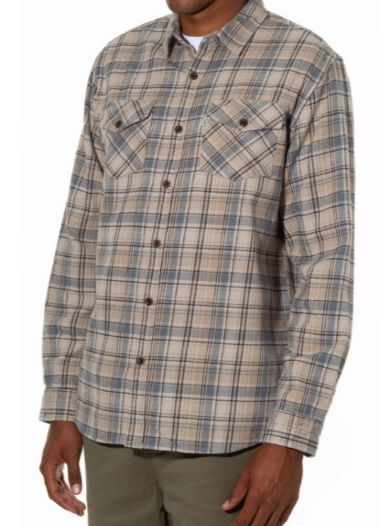 Katin Fred Flannel Light Grey