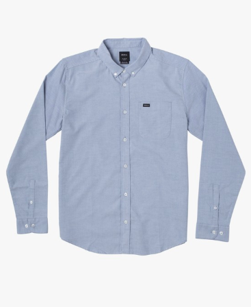 RVCA Boys That'll Do Stretch Long Sleeve Shirt