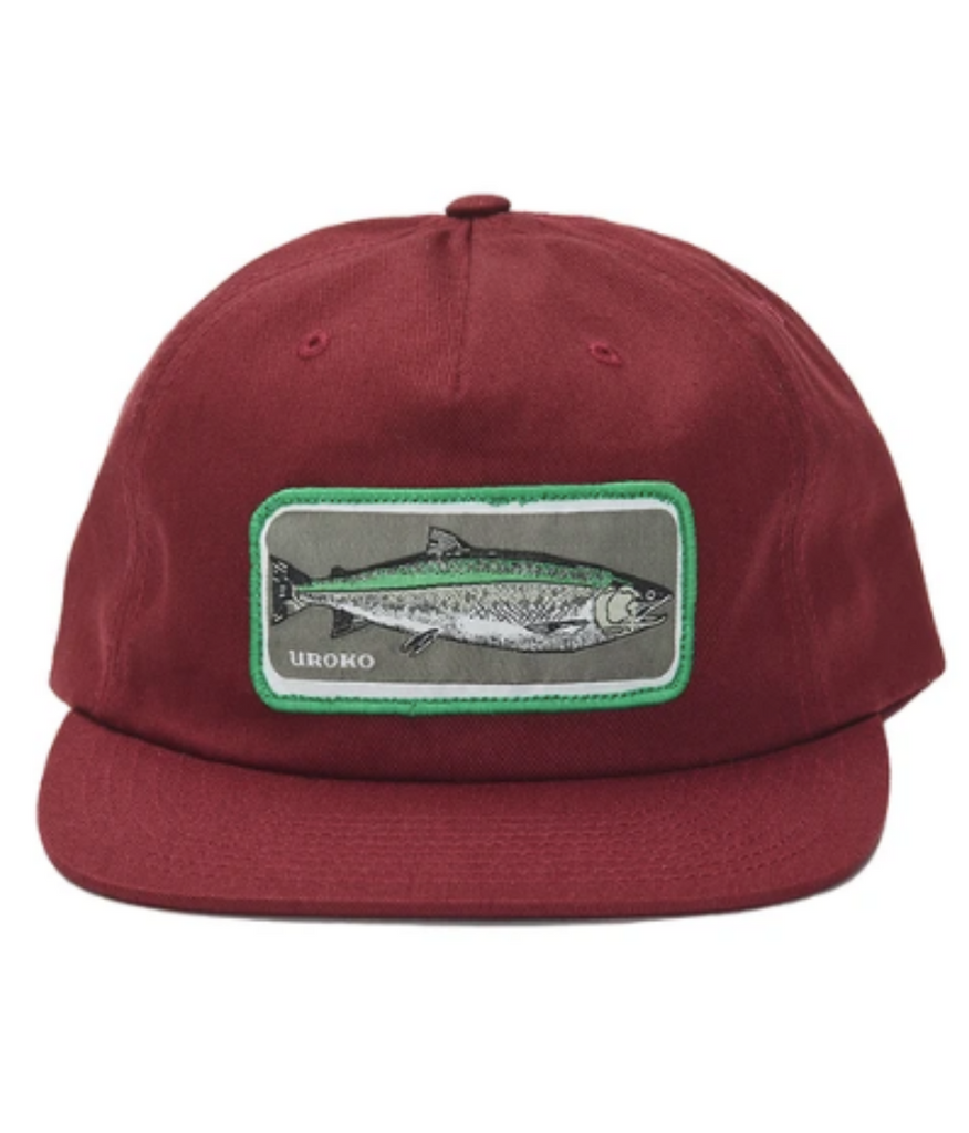 Uroko Coho Patch Unstructured 5 Panel Hat