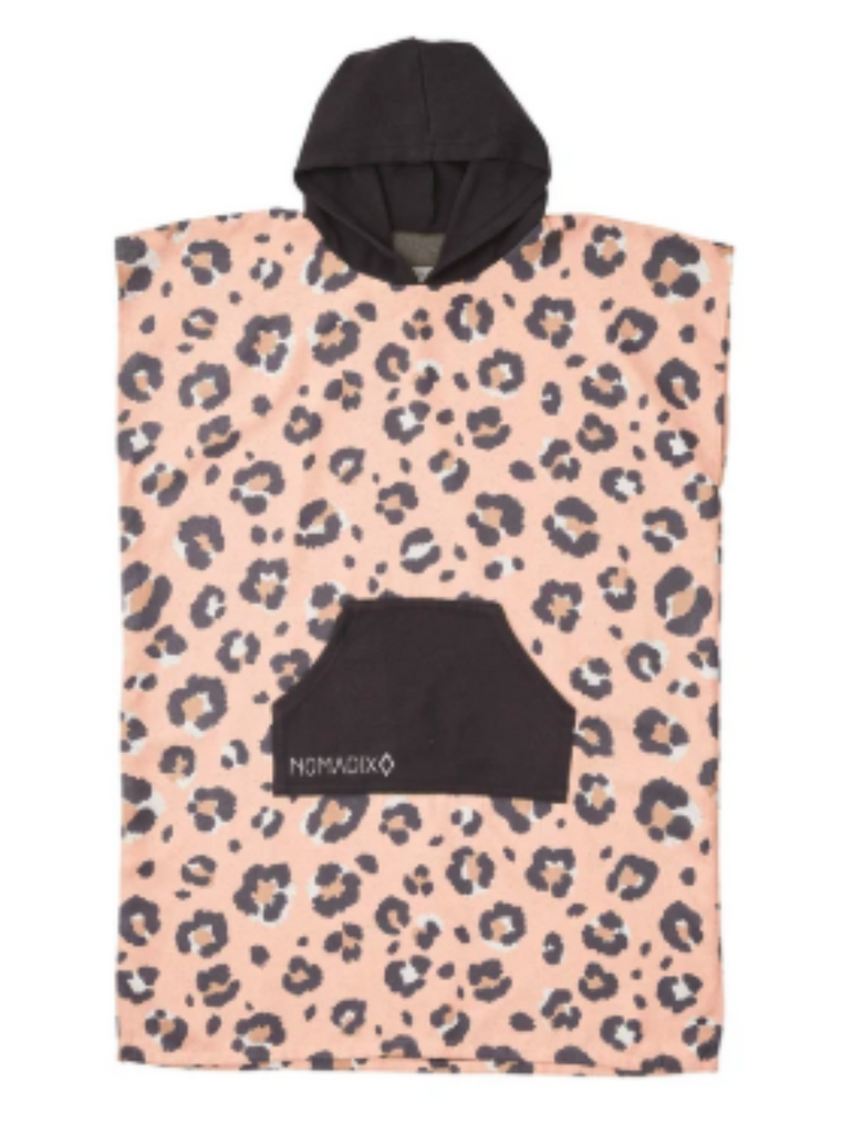Nomadix Leopard Pink Changing Poncho