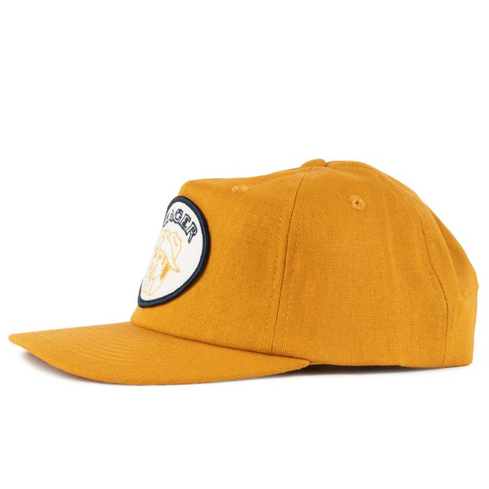 Seager Storytime Hemp Snapback Hat Burnt Yellow