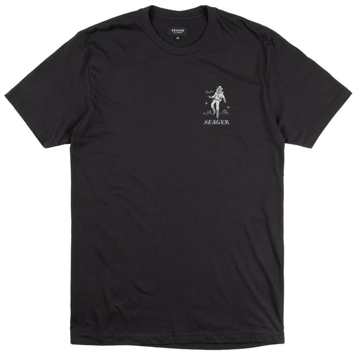 Seager Space Cowboy Tee Black