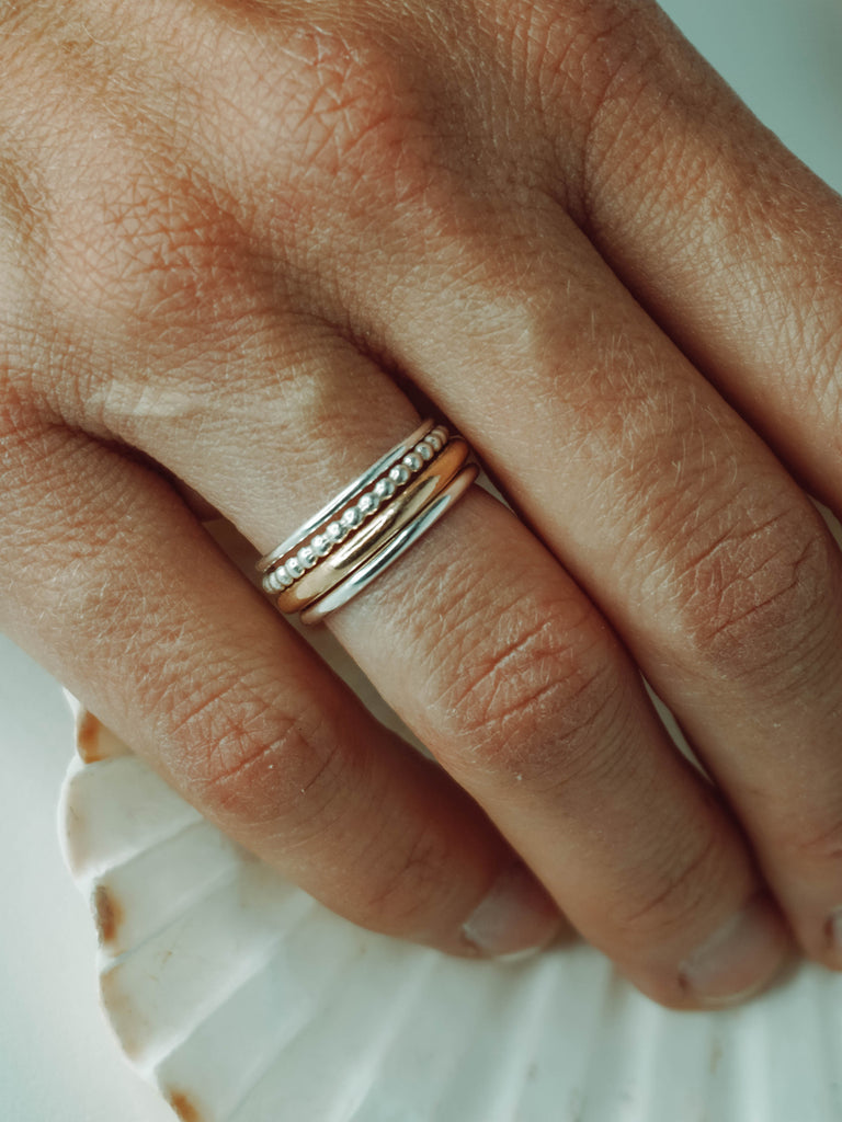 14K Gold-Filled Thick Stacking Ring
