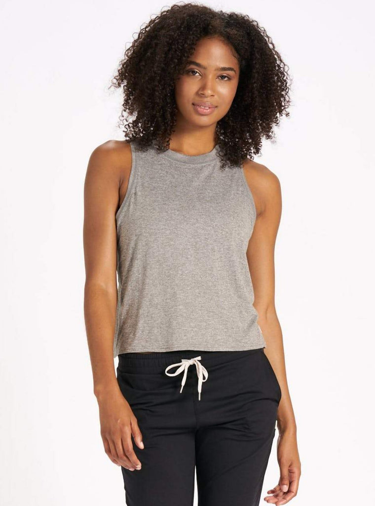 Vuori Energy Top Heather Grey
