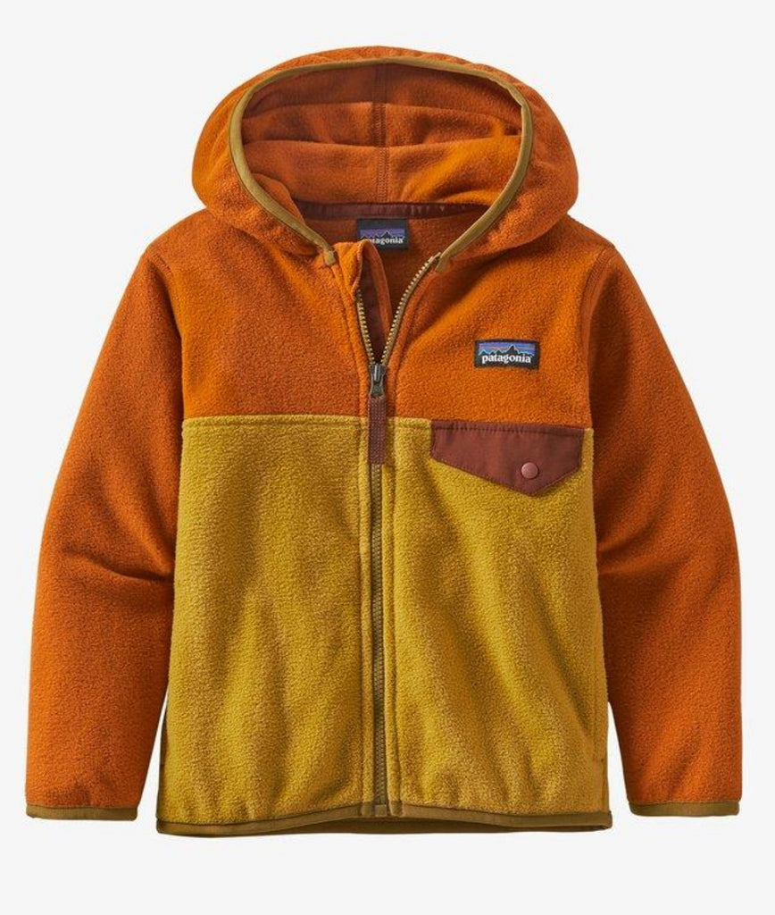 Patagonia Baby Micro D® Snap-T® Fleece Jacket Buckwheat Gold