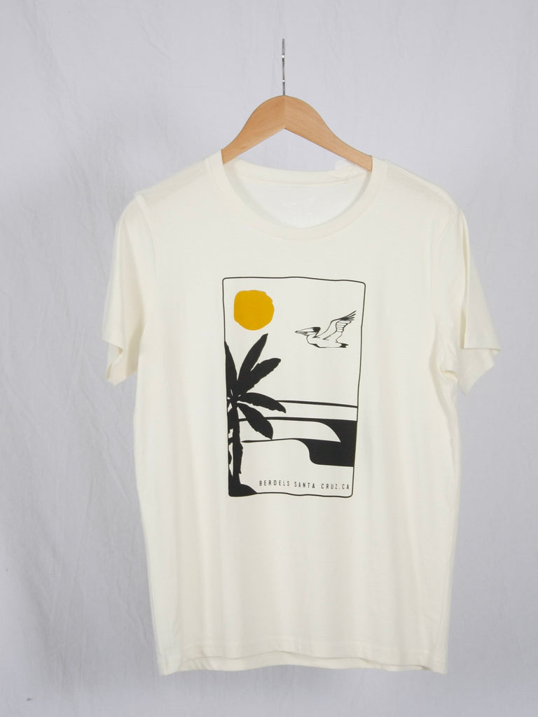 Berdels Aloha Nights Short Sleeve Tee Natural