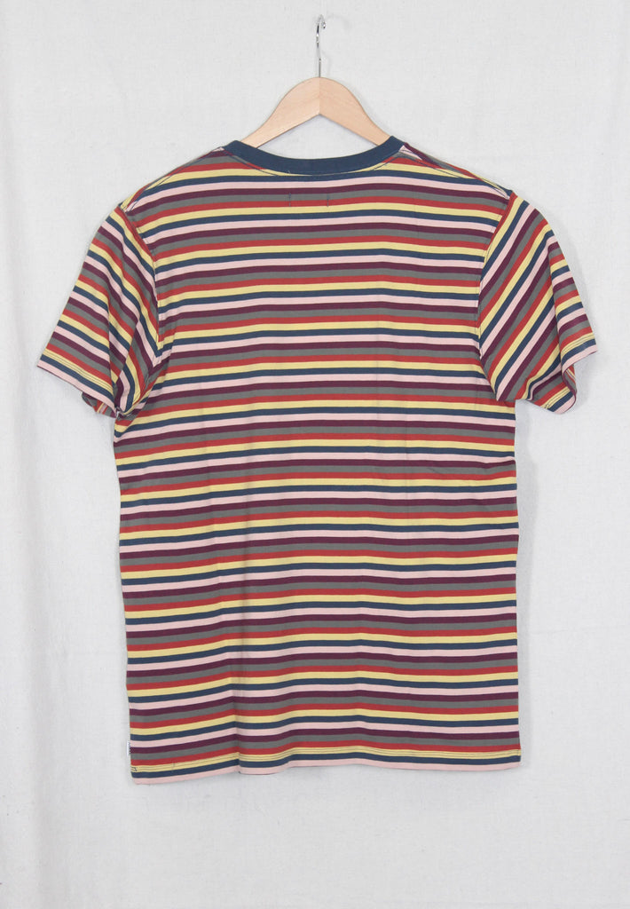 Banks Journal Silence Stripe Tee Insignia Blue