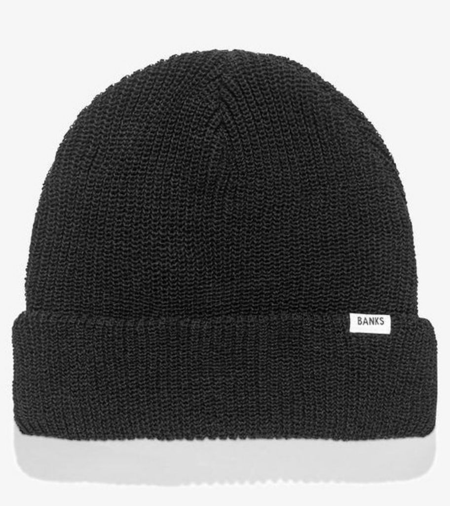 Banks Journal Primary Beanie Black