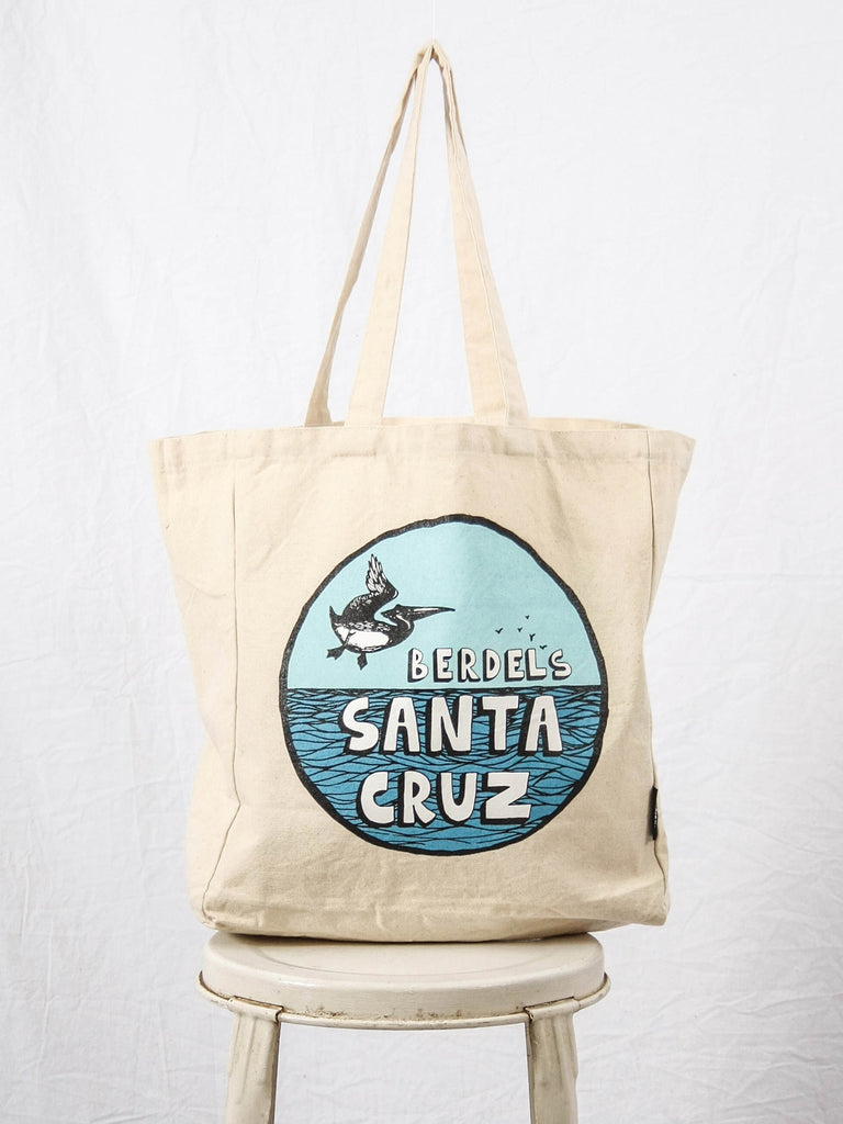 Cruz Berd Canvas Tote Bag