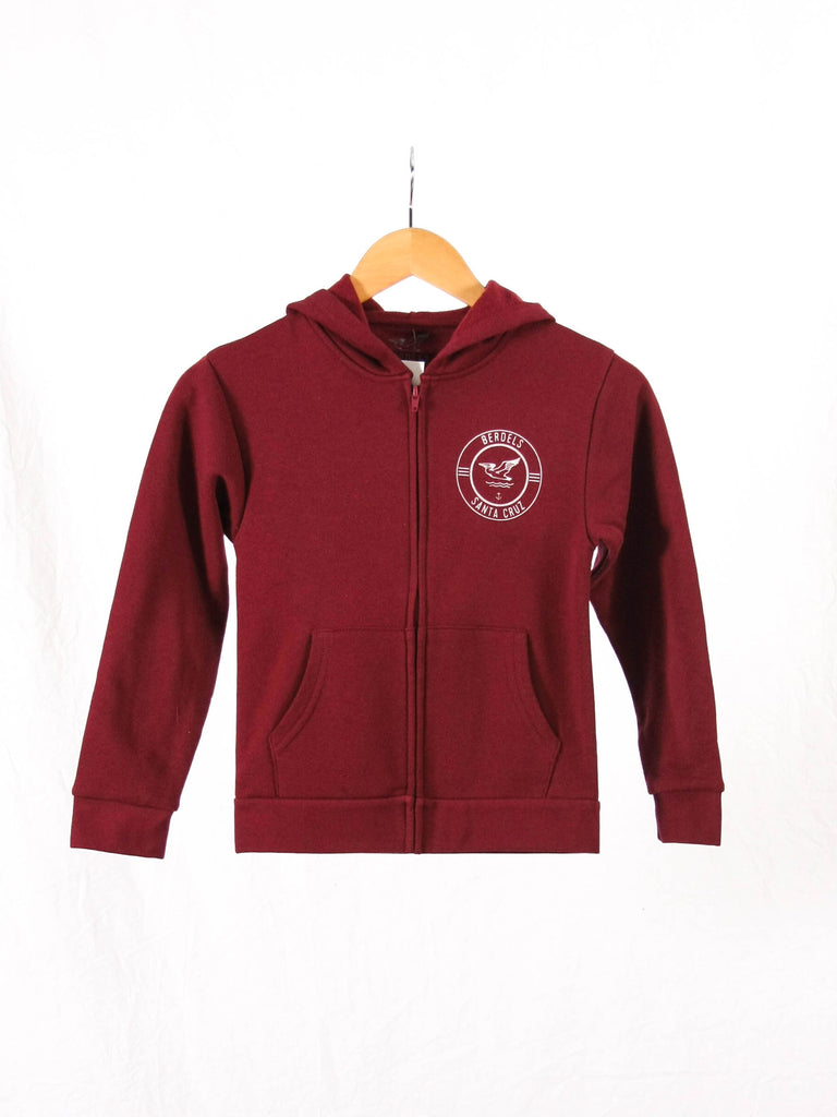 Surf Club Kid's Zip-Hoodie Royal