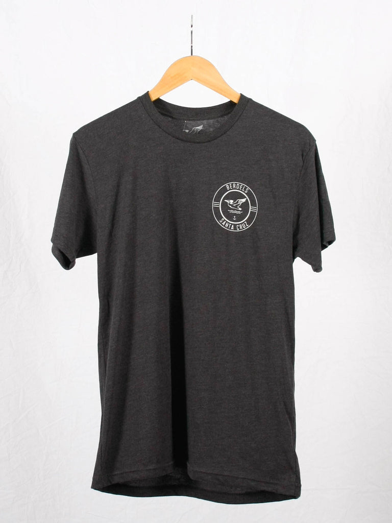 Surf Club Tee Heather Charcoal